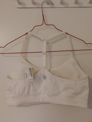 Forever 21 Soutien-gorge blanc polyester