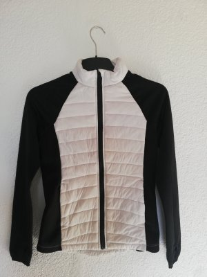 Forever 21 Sports Jacket white-black
