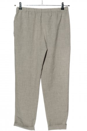 Forever 21 Jersey Pants light grey-natural white flecked casual look