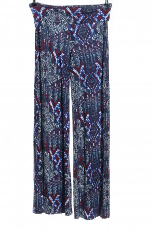 Forever 21 Stoffhose abstraktes Muster Casual-Look