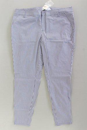 Forever 21 Jersey Pants blue-neon blue-dark blue-azure cotton