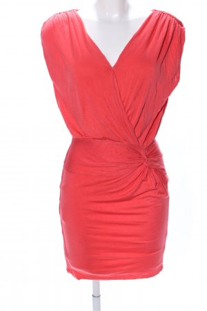 Forever 21 Stretchkleid rot Casual-Look