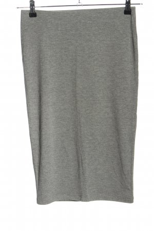 Forever 21 Falda stretch gris claro moteado look casual