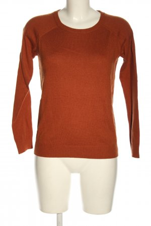 Forever 21 Strickpullover rot Webmuster Casual-Look