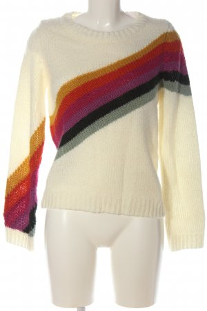 Forever 21 Strickpullover Streifenmuster Casual-Look