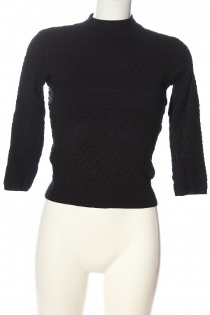 Forever 21 Strickpullover schwarz Casual-Look