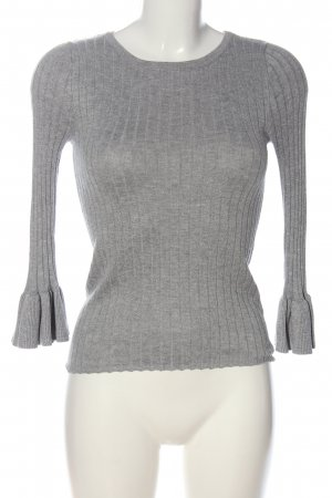 Forever 21 Strickpullover hellgrau Casual-Look