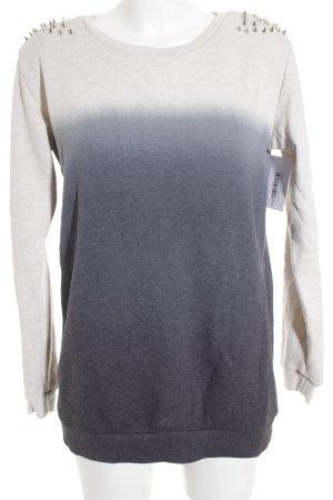 Forever 21 Sweatshirt Farbverlauf Casual-Look