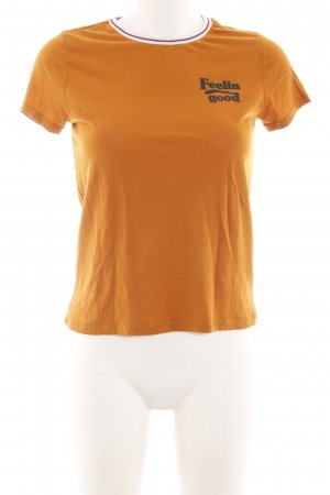 Forever 21 T-Shirt hellorange Casual-Look