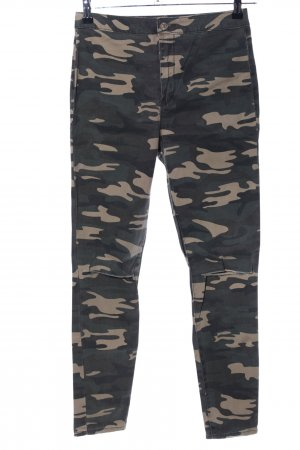 Forever 21 Treggings Camouflagemuster Casual-Look
