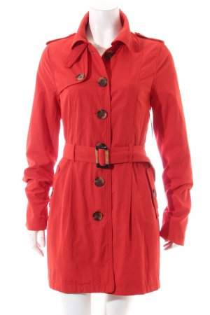 Forever 21 Trenchcoat rot Casual-Look