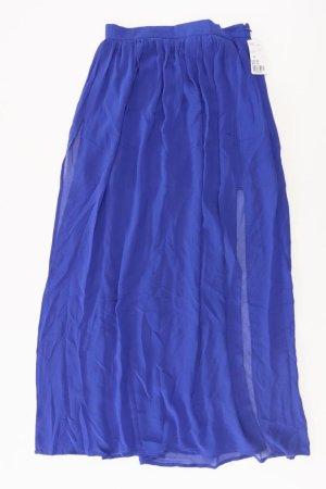 Forever 21 Tulle Skirt blue-neon blue-dark blue-azure polyester