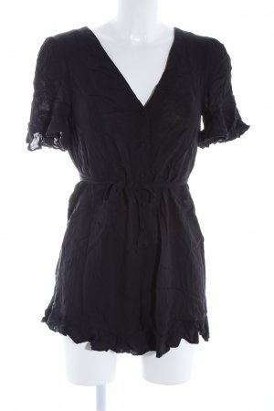 Forever 21 Tunikabluse schwarz Casual-Look
