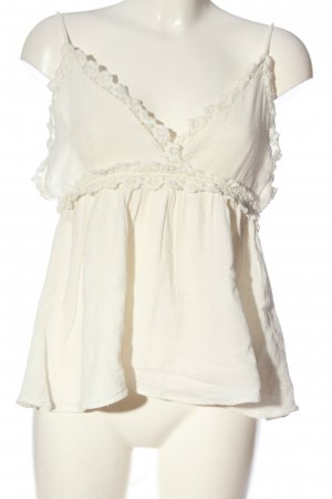Forever 21 Wickel-Bluse creme Casual-Look