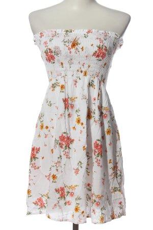 Forever Sukienka z dekoltem typu bandeau Na całej powierzchni W stylu casual