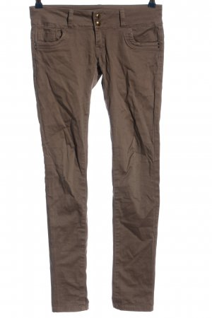 forever Five-Pocket Trousers brown casual look