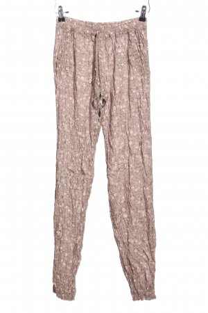 forever Harem Pants brown-white allover print casual look