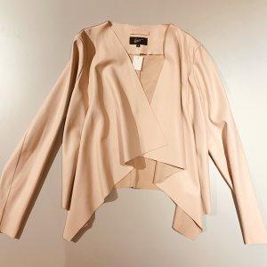 Faux Leather Jacket pink imitation leather