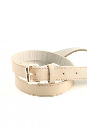 forever Faux Leather Belt natural white casual look