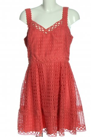 Forever New A-Linien Kleid rot Casual-Look