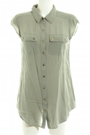 Forever New Kurzarm-Bluse khaki Casual-Look