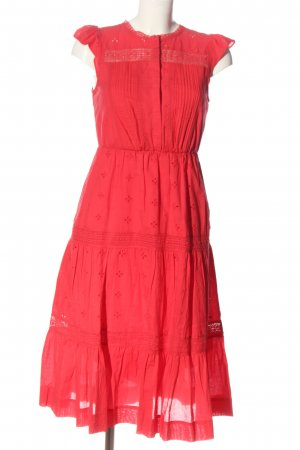 Forever New Blusenkleid rot Casual-Look