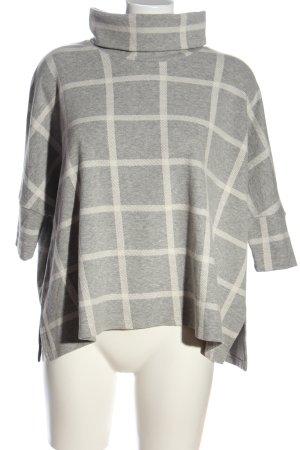 Forever New Blusa caída gris claro-blanco look casual