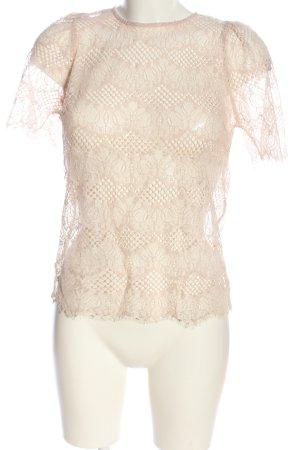 Forever New Blusa transparente blanco puro look casual