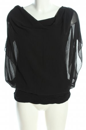 forever Oversized Bluse schwarz Casual-Look