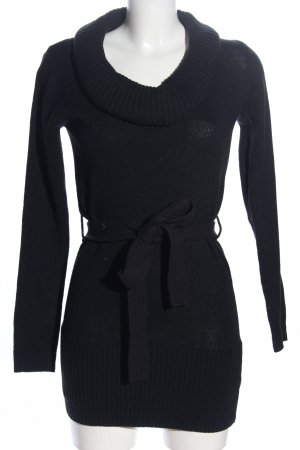 forever Sweater Dress black casual look