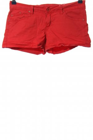 forever Shorts red casual look