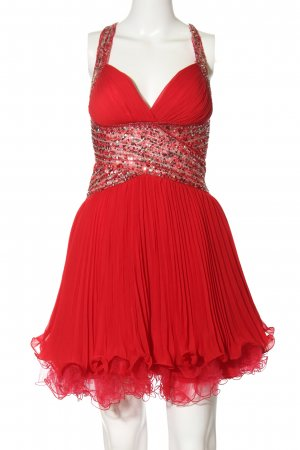Forever Unique Ball Dress red glittery