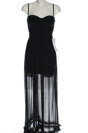 Forever Unique Pinafore dress black elegant