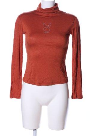 FOREVERBACI Maglione dolcevita arancione chiaro stile casual