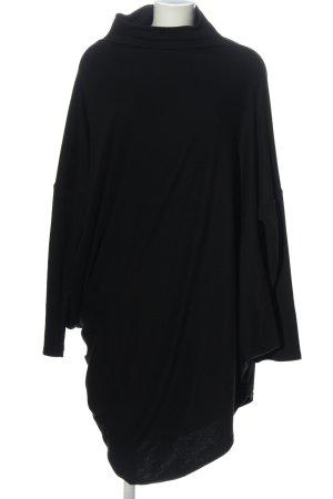Forgotten Tribes Vestido mullet negro elegante