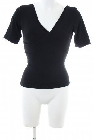 form e couleur Camisa cruzada negro look casual