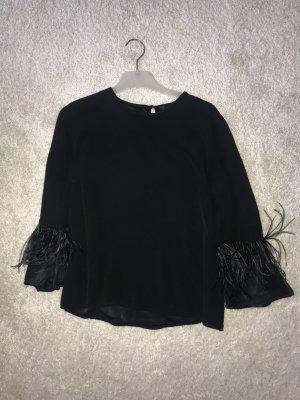 formales schwarzes Hemd