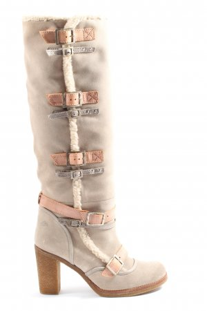 Fornarina Heel Boots natural white casual look