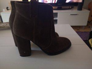 fornarina ankle boots neuwertig 38 braun