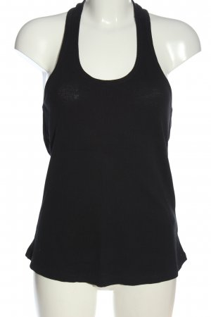 Fornarina Basic topje zwart casual uitstraling
