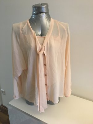 Fornarina Bluse / mit Top zweiteilig, Gr S, zartes rose / peach