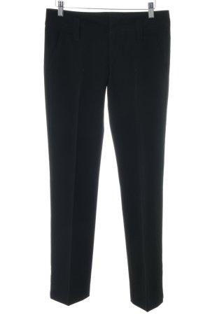 Fornarina Pantalone a pieghe nero stile professionale