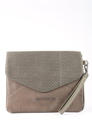 Fornarina Pochette brun-gris clair style d'affaires