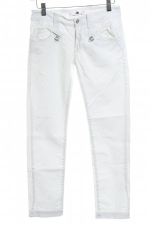 Fornarina Five-Pocket Trousers white casual look