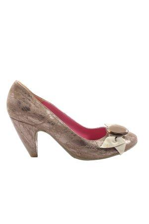 Fornarina High Heels braun Casual-Look