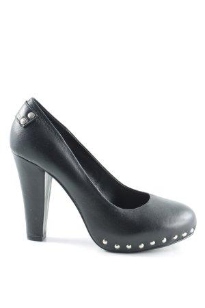 Fornarina High Heels schwarz extravaganter Stil