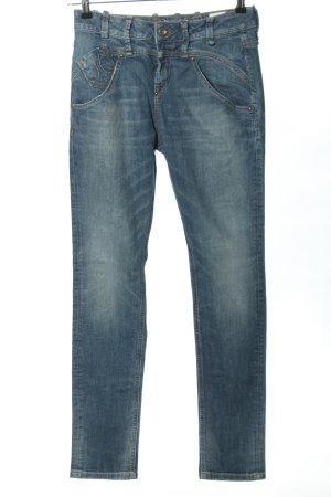 Fornarina High Waist Jeans blau Casual-Look