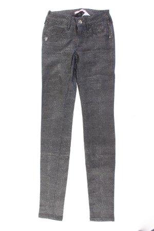 Fornarina Hose Größe 26 schwarz aus Baumwolle