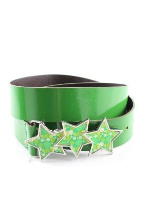 Fornarina Cinturón de cadera verde estilo extravagante