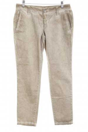 Fornarina Low-Rise Trousers beige street-fashion look
